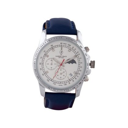 Personalized White Chronograph Watch