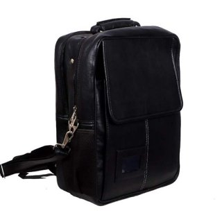 Personalized Backpack With White Stitching