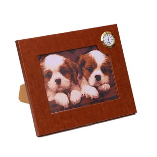 Personalized Photo Frame - Big With Watch