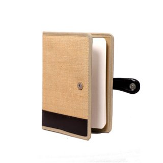 Personalized Jute Notebook - Chief