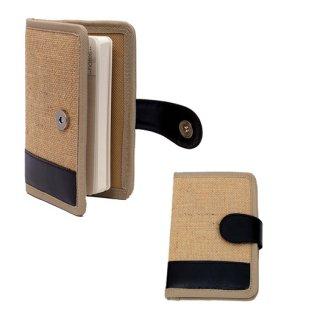 Personalized Jute Notebook - Fancy