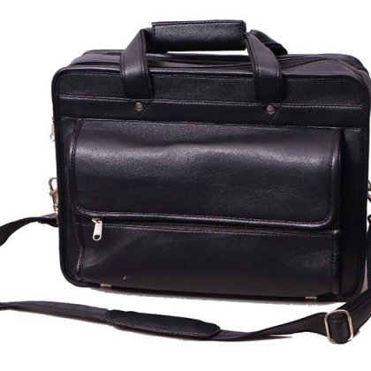 Personalized Laptop Bag With Double Zip