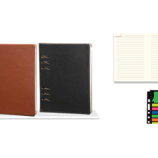 Personalized Executive Planner (Golden Clip) (With Sticky Notepad & Laminated Box)