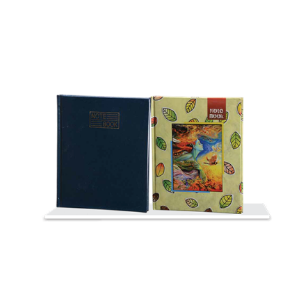 Personalized B/ Shell Note Book 112 Sheet (Paper Hb)