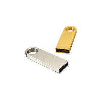 Personalized Metal [ K ] Silver Pendrive