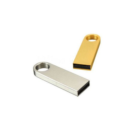 Personalized Metal [ K ] Silver Pendrive