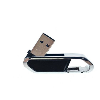 Personalized Metal Carabineer Pendrive