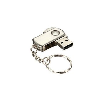 Personalized Metal Swivel Pendrive