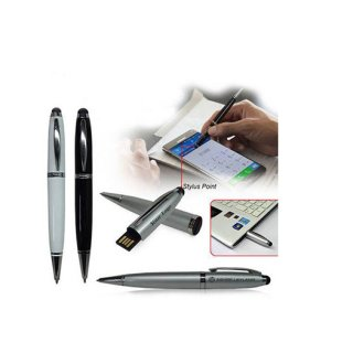 Personalized USB Pen With Stylus