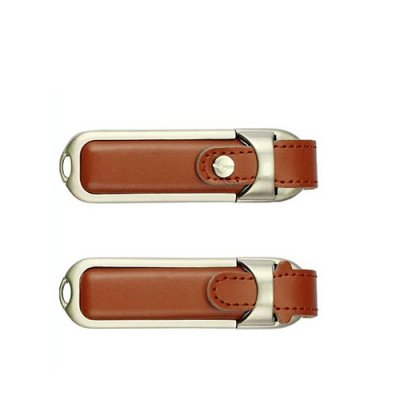 Personalized Leather Loop Pen Drive