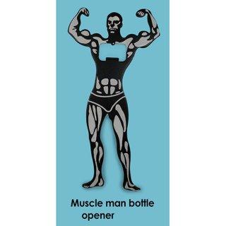 Personalized Muscle Man Bottle Opener