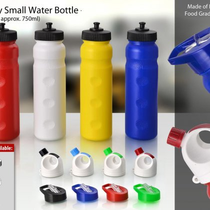 Personalized Grippy Water Bottle Small (3 Lid Options : A, B, C)