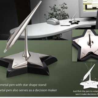 Personalized Pen Stand With Decision Maker
