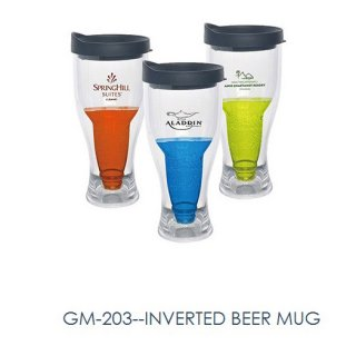 Personalized Inverted Beer Mug