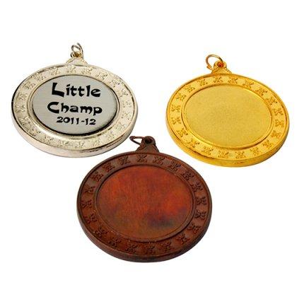 Personalized Fancy Matiz Medal