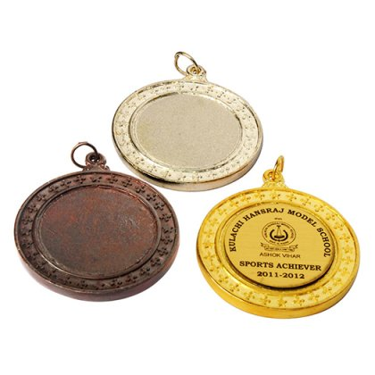 Personalized Fancy Max Medal