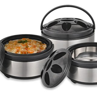 Personalized Food port Casserole Combo Set of 3 Pcs.
