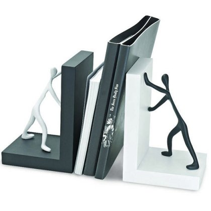 Personalized Wooden Bookends