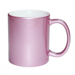 Personalized Pink Mug (11Oz)