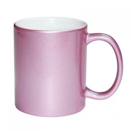Personalized Pink Mug (11Oz)