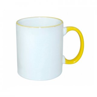 Personalized Rim Handle Mug (11Oz)