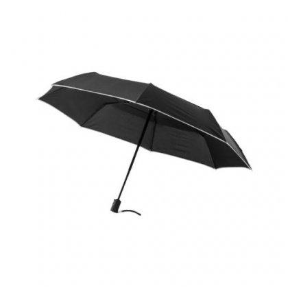 Personalized Black Folding Umbrella