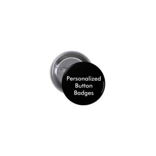 Personalized Button Badges