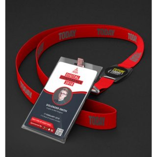 Personalized ID Card With Lanyard