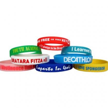 Personalized Silcon Wristband