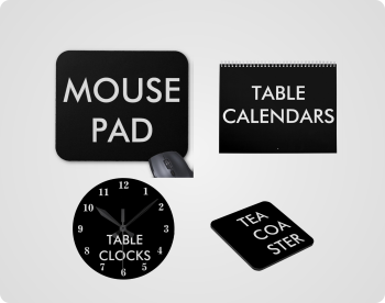 Personalised Desk Accessories